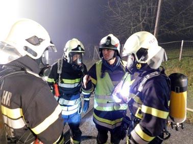 Gemeinschaftsübung mit FF Rohrbach am Kulm