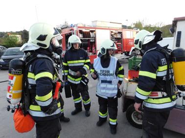 1. Abschnitts-ATS-Übung 2018 bei der FF Preßguts