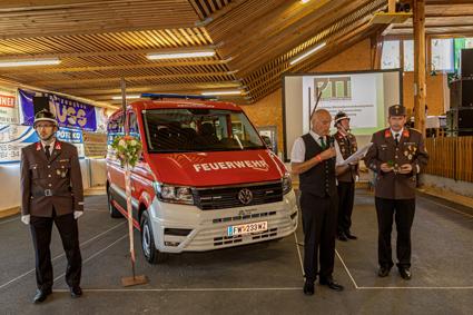 Feuerwehr Reichendorf feiert 80-jähriges Bestehen
